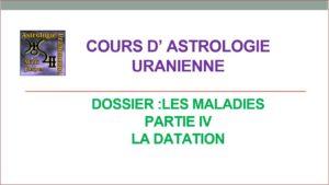 Read more about the article Les maladies – partie 4