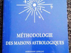 Livre: Méthodologie des maisons astrologiques – Hermann Lefeldt