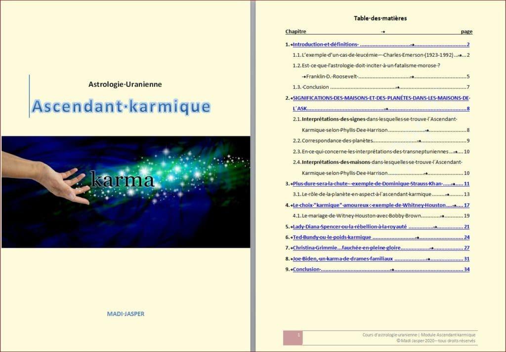 L'Ascendant karmique - PDF complet
